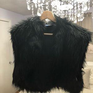 Vera Wang Faux Fur